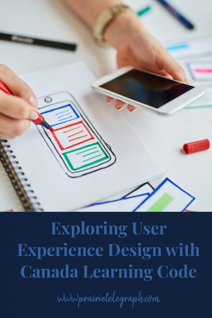 Exploring User Experience Design with Canada Learning Code | prairietelegraph.com
